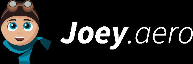 Joey lernt fliegen.